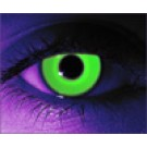 Rave Green Glows Under Blacklight Contact Lenses