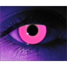 Rave Pink Glows Under Blacklight Contact Lenses